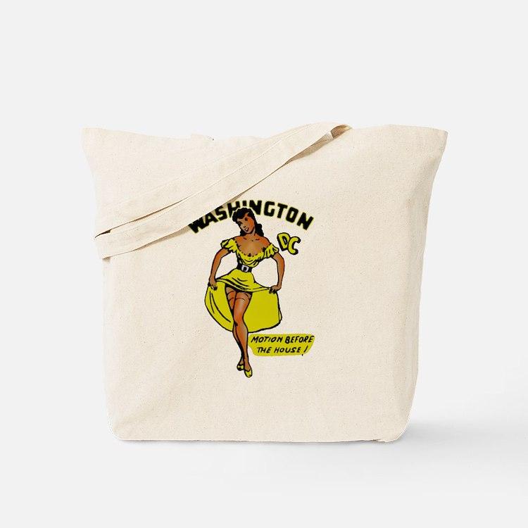 Vintage DC Pinup Tote Bag