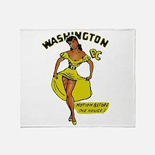 Vintage DC Pinup Throw Blanket