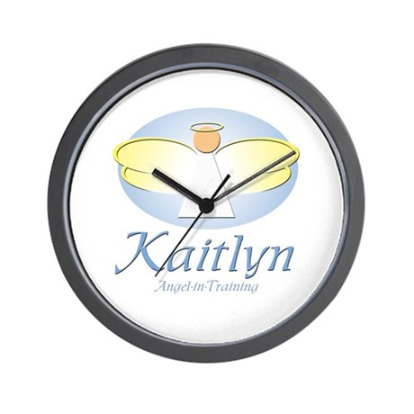 Angel-in-Training - Kaitlyn Wall Clock