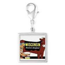 Vintage Wisconsin Dairyland Charms