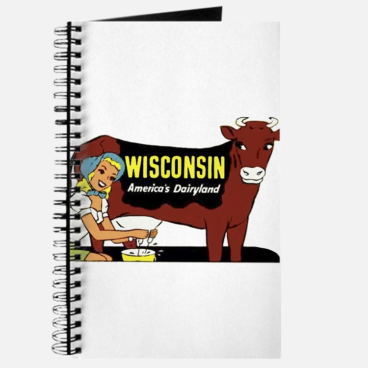 Vintage Wisconsin Dairyland Journal