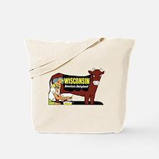 Vintage Wisconsin Dairyland Tote Bag