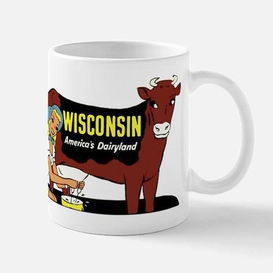 Vintage Wisconsin Dairyland Mug