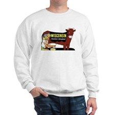 Vintage Wisconsin Dairyland Sweatshirt