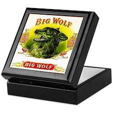 Big Wolf Keepsake Box