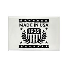 Made In USA 1935 Rectangle Magnet