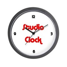 Project Studio Wall Clock