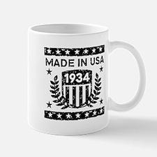 Made In USA 1934 Mug