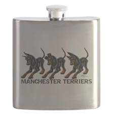 3 Standard Manchesters Flask