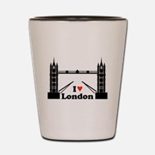 Loving London Shot Glass