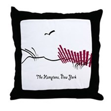 The Hamptons Throw Pillow