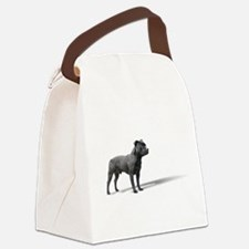Standing Staffordshire BUll Terrier Canvas Lunch B