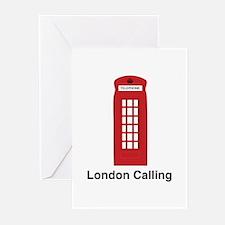 London Calling Greeting Cards (Pk of 20)