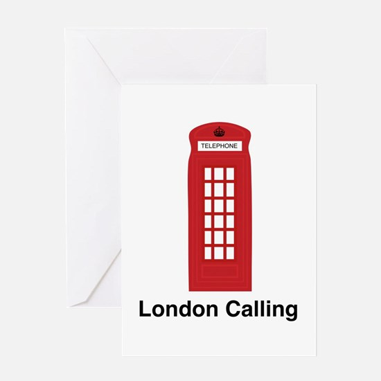 London Calling Greeting Card