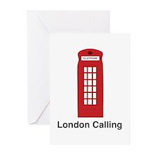 London Calling Greeting Cards (Pk of 10)