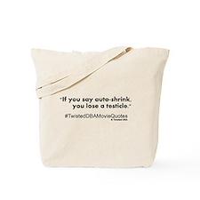 autoshrink.png Tote Bag
