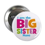 Big sister personalized medallion Single