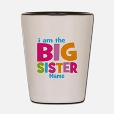 Big Sister Personalized Shot Glass