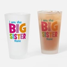 Big Sister Personalized Drinking Glass