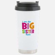 Big Sister Personalized Travel Mug