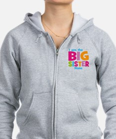 Big Sister Personalized Zip Hoodie