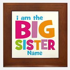 Big Sister Personalized Framed Tile