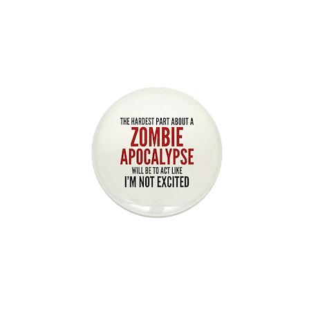 Zombie Apocalypse Mini Button (10 pack)