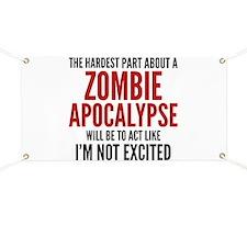 Zombie Apocalypse Banner