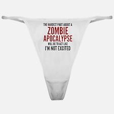 Zombie Apocalypse Classic Thong
