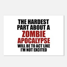 Zombie Apocalypse Postcards (Package of 8)