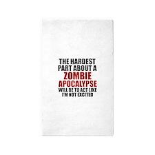 Zombie Apocalypse 3'x5' Area Rug