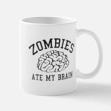 Zombies Ate My Brain Mug