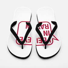 I Believe In Raylan Flip Flops
