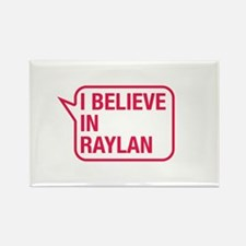 I Believe In Raylan Rectangle Magnet