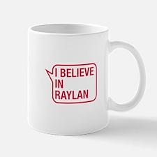 I Believe In Raylan Small Mugs