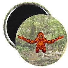 "Orangutan 2.25"" Magnet (100 pack)"