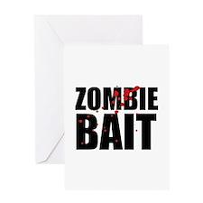 Zombie Bait Greeting Card