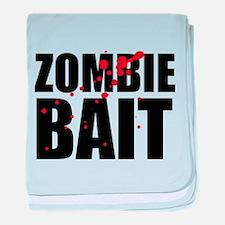 Zombie Bait baby blanket