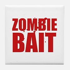 Zombie Bait Tile Coaster