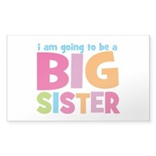 Big Sister Personalized Decal