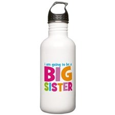 Big Sister Personalized Water Bottle