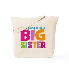 Big Sister Personalized Tote Bag