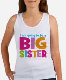 Big Sister Personalized Women's Tank Top