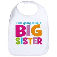 Big Sister Personalized Bib