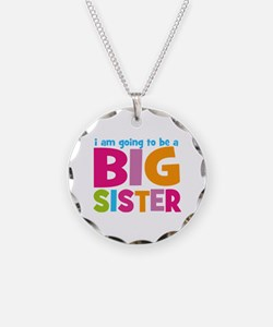 Big Sister Personalized Necklace