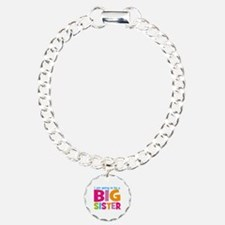 Big Sister Personalized Charm Bracelet, One Charm