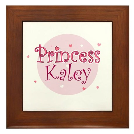 Kaley Framed Tile