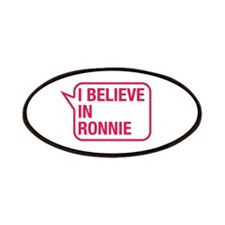 I Believe In Ronnie Patches