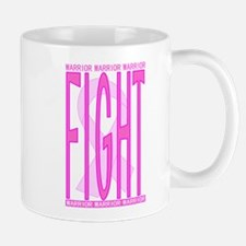 Fight Cancer Fight Pink Small Small Mug
