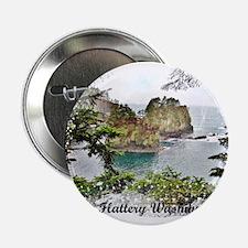 "Cape Flattery Washington 2.25"" Button"